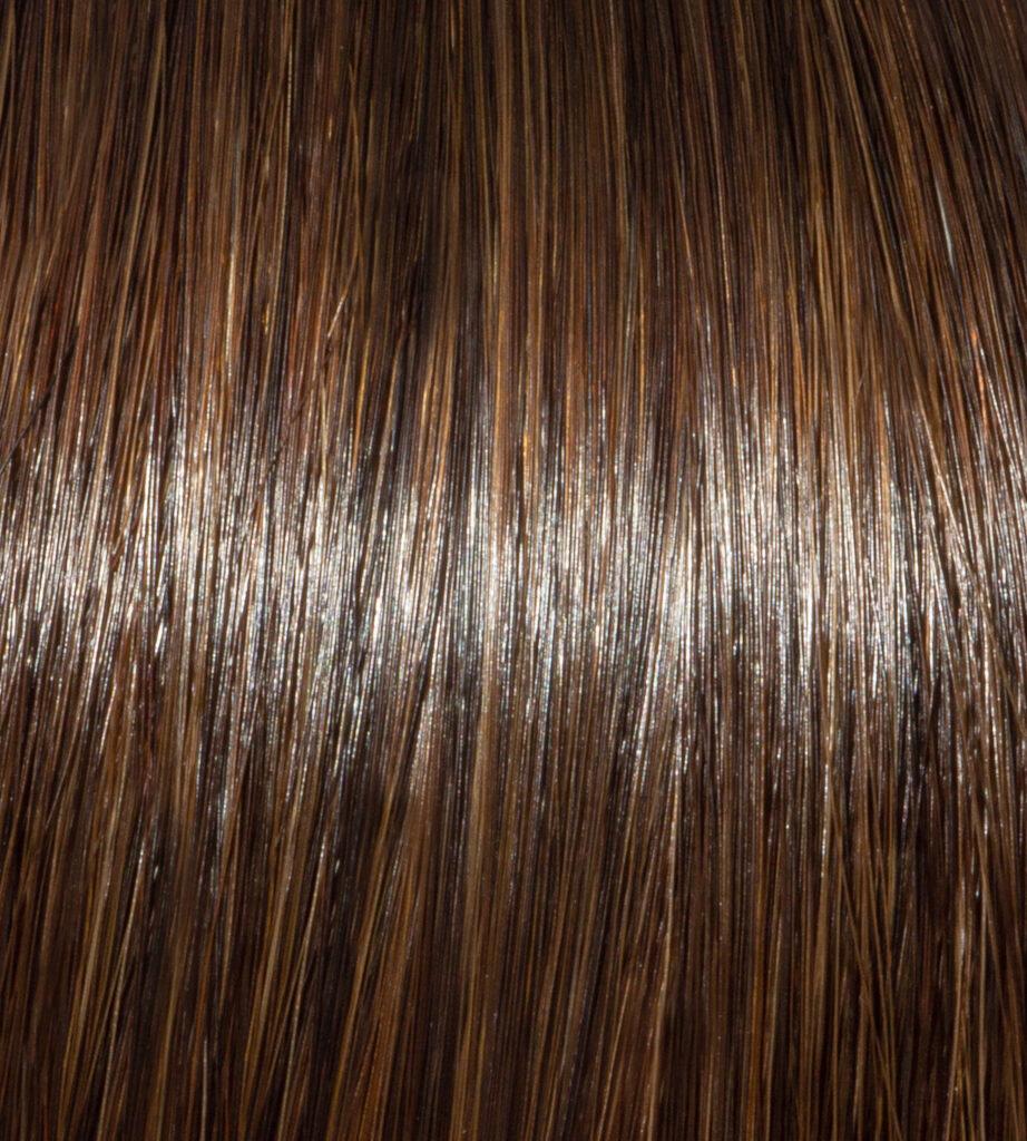 Dark Brown Hair Swatch
