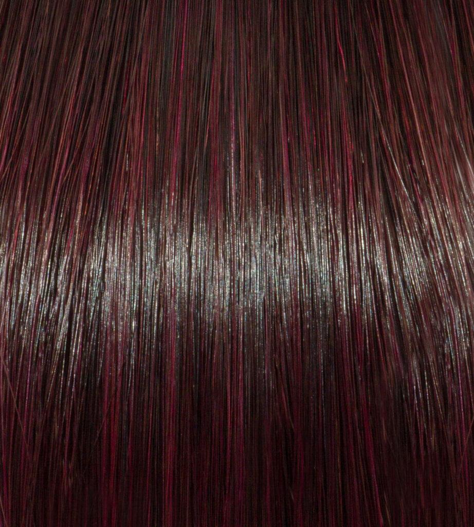 Monaco Magenta on Dark Brunette Hair